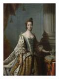 Charlotte Sophia of Mecklenburg-Strelitz  1762