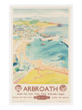 Arbroath  Poster Advertising British Railways  C1950
