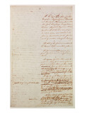 First Draft of the Constitution of the United States  1787