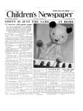 Sooty  Front Page of 'The Children's Newspaper'  March 1955