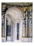 Interior of the Kunsthistorisches Museum in Vienna  Detail Depicting Archway