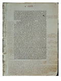 Folio from Pierre D'Ailly's 'Imago Mundi'