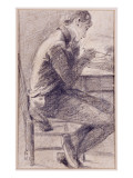 Portrait of an Artist Sketching  1801