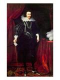 Portrait of George Villiers  1st Duke of Buckingham