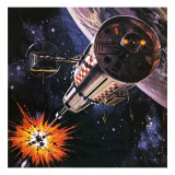 War in Outer Space  as Envisaged in 1977