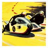 Motor-Cycle Side-Car Racing
