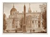 The Santa Maria Maggiore Obelisk  1833