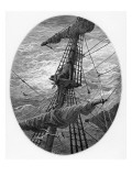 The Mariner Up the Mast During a Storm