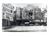 Place Saint-Andre-Des-Arts  Paris  1858-78