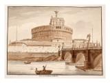The Bridge of Hadrian's Tomb  1833