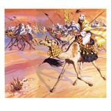 Arabs Pouring across the Desert to Kill Mohamed