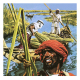 Men of the Marshes of Southern Iraq