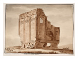 Temple of Fortuna Muliebre  1833