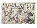 Juan Ponce Battles the Natives of Florida  1726