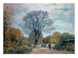 A Road in Seine-Et-Marne  1878