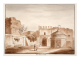 The Porta Latina  Closed  1833