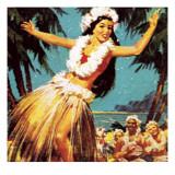 Hawaian Girl Dancing