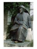 Statue of Moses Maimonides