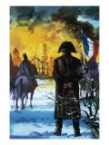 Napoleon Watching Moscow Burn