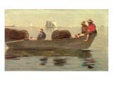 Three Boys in a Dory  1873