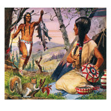 Hiawatha and Minnehaha