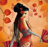 Miss Satsuma Reproduction d'art par Misstigri