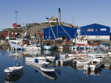 Fishing Boats and Royal Greenland Seafood Factory
