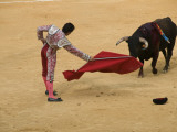 Bullfight at Plaza De Toros De Valencia