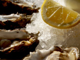 Fresh Oysters on the Half Shell at Bayswater Brasserie  Kings Cross
