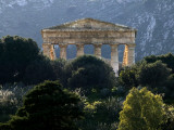 Ruined Greek Doric Temple