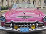 Classic Pink Desoto Taxi Car