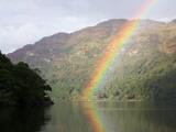 Rainbow over Loch Lomond  Loch Lomond and the Trossachs National Park