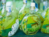 Decorated Limoncello Bottles