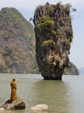 Thai Monk at Ko Phing Kan (James Bond Island)