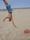 Boys Jumping at Las Arenas Beach