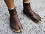 Rickshaw Driver's Shoes
