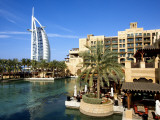 Burj Al Arab and Medinat Hotels