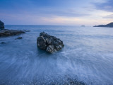 Dusk on the Southern Crete Coastline