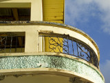 Crumbling Art-Deco Balcony