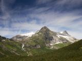 Mountain Peaks from Trollstigen in Summer