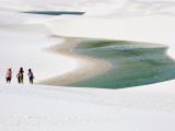 Tourists at Lencois National Park