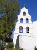 Bell Tower at Mission Basilica San Diego De Alcala