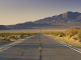 Avawatz Mountains over Silurian Valley in Mojave Desert from Highway 127