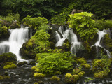 Waterfall at Fukidashi Park