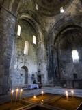 Candles in Sanahin Monastery Church