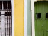 Colourful Colonial Doorways in Old San Juan