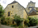 House in Village of Castelnaud at the Foot of Castenuad Castle