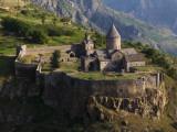 Tatev Monastery on Edge of Vorotan Canyon