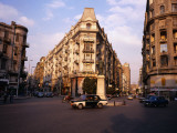 Midan Talaat Harb Intersection in Central Cairo