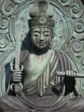 Statue of Buddha at Tenryu-Ji Temple  Sagano District